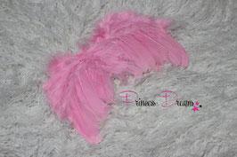 Federflügel 0-12 Monate rosa