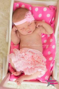 Rüschenshorts ab Geburt-12 Monate ROSA