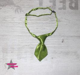 Mini Krawatte grün 10cmx5cm