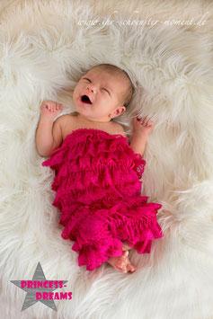 Rüschenbody pink