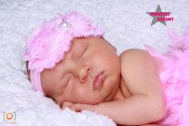 Stofffransenblume rosa LHB01