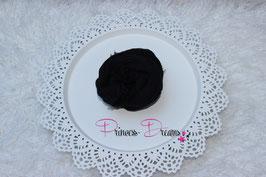 Musselin-Fransentuch schwarz (13)
