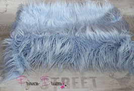 Kunstfell babyblau