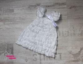 Rüschenkleid weiß