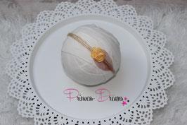 SHB Mohair Vintage Blume braun/ananas