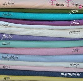 Jersey-Pucktücher versch. Farben
