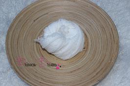 Musselin-Fransentuch weiß (39)