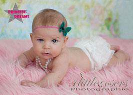 Rüschenhose ab Geburt- ca. 12 Monate weiß
