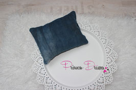 Pillow Cord blau