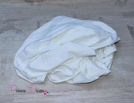 Jersey-Pucktuch weiß