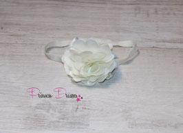 HB660 Blume ivory glitzer
