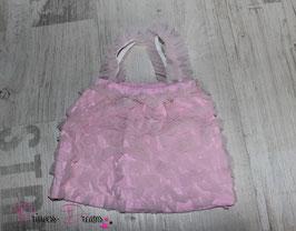Träger-Rüschentop ab 3 Monate rosa