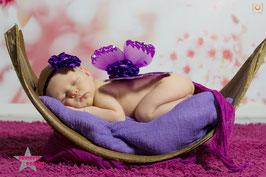 Flügel lila ab Newborn
