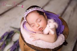 Blumenkranz ab Newborn flieder