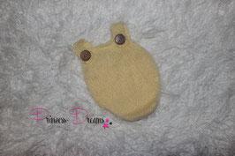 Newborn Mohair Overall gelb
