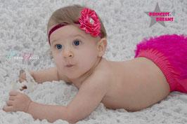 Rüschenhöschen pink ab 3 - ca. 24 Monate