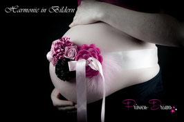 Bauchband schwarz/pink/rosa