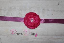 Bauchband Blume pink