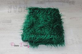 """""""Zottel"""" Decke gras-grün"""