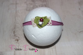 JHB Blume plum/grün