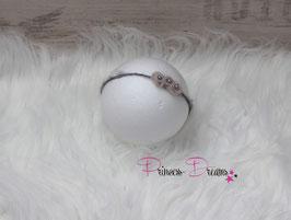 SHB braun/Tan mit Perlen