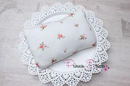 Pillow ivory mit Flowerdruck