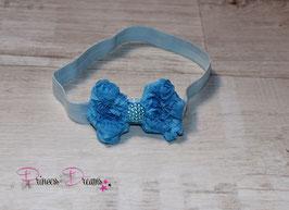 HB474a Schleife blau/hellblau