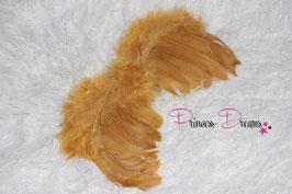 Federflügel 0-12 Monate gold
