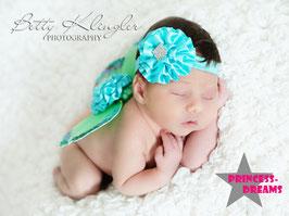 Flügel Mintgrün ab Newborn
