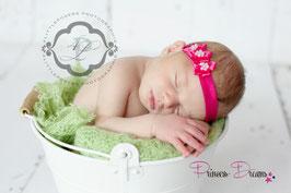 Haarband Blummen pink20