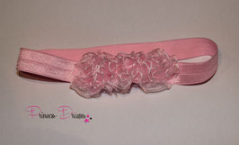 HB676 rosa Röschenblumen