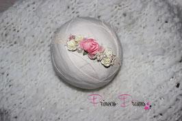 SHB Blumen Vintage creme/rosa