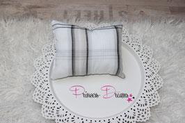 Pillow weiß/beige/grau