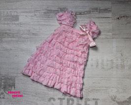 Rüschenkleid rosa
