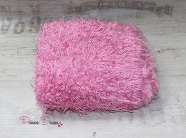 """""""Zottel"""" Decke rosa-pink"""