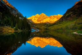 USA Aspen Alpenglow