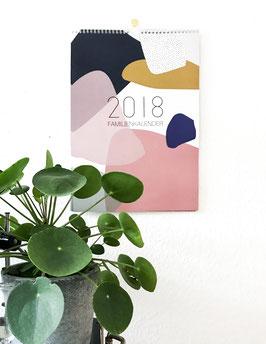Familienkalender 2018