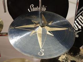 """Soultone Cymbals 18"""" Kompass Crash (Einzelstück)"""
