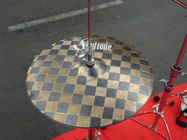 """Soultone Cymbals 14"""" Racing Hi-Hat (Einzelstück)"""