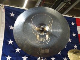 "Soultone Cymbals 17"" Skull China (Einzelstück)"