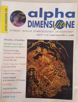 N° 22 - Rivista: Alpha Dimensione Vita