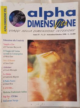 N° 23 - Rivista: Alpha Dimensione Vita