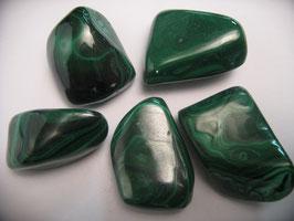 Malachite - pietra burattata