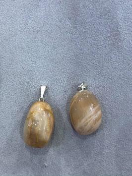 Pietra di Luna - Adularia - Collanina con ciondolo