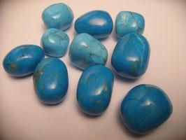 Magnesite blu - pietra burattata