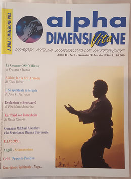 N° 7 - Rivista: Alpha Dimensione Vita