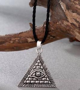 Collanina Piramide con Occhio di protezione