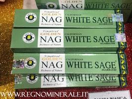 "Incenso Nag White Sage ""SALVIA BIANCA"""
