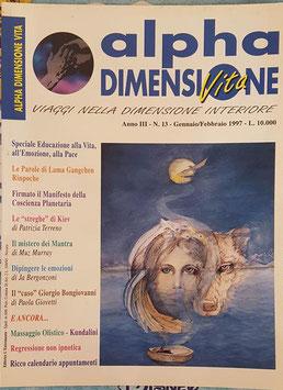 N° 13 - Rivista: Alpha Dimensione Vita