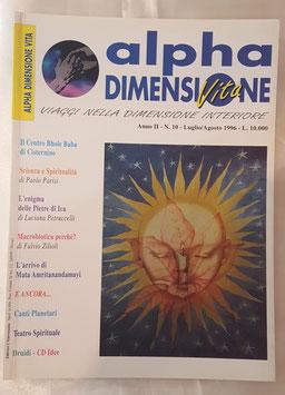 N° 10 - Rivista: Alpha Dimensione Vita